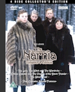 Chronicles of Narnia DVD Cover